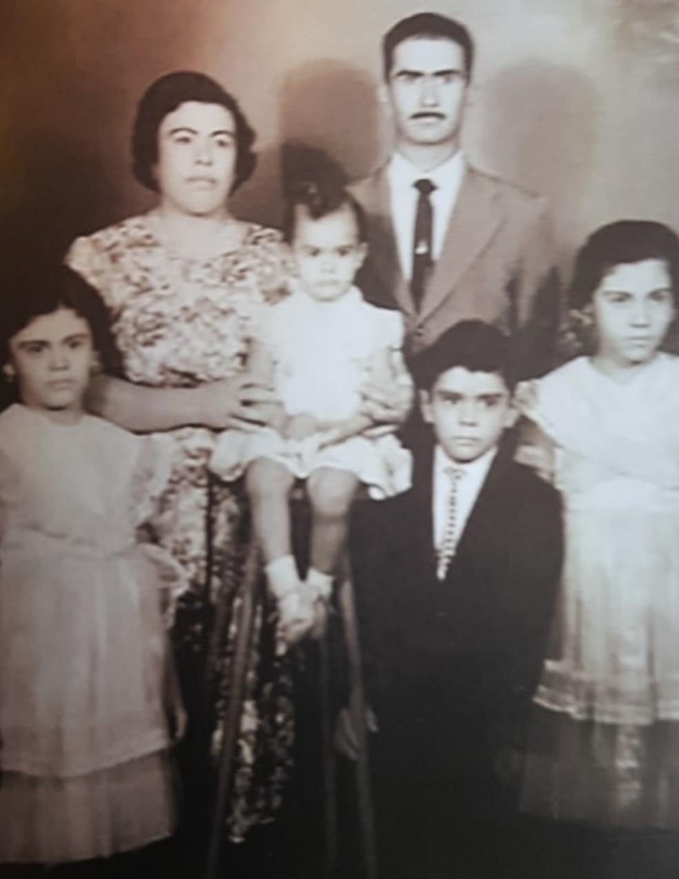 Família do candango José Paulo Sarkis, 89 anos — Foto: Arquivo pessoal