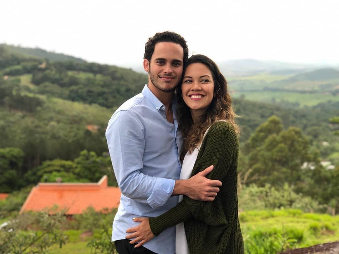 Os bastidores do casamento de Marina e Rafael (Foto: Reprodução)