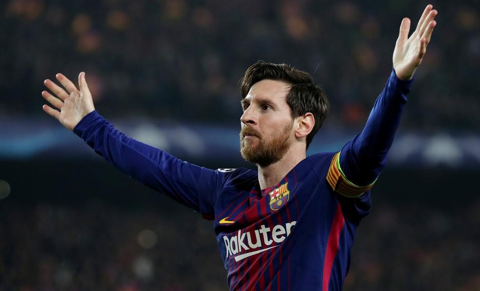 Messi está em primeiro colocado em estudo  (Foto: Albert Gea/Reuters)