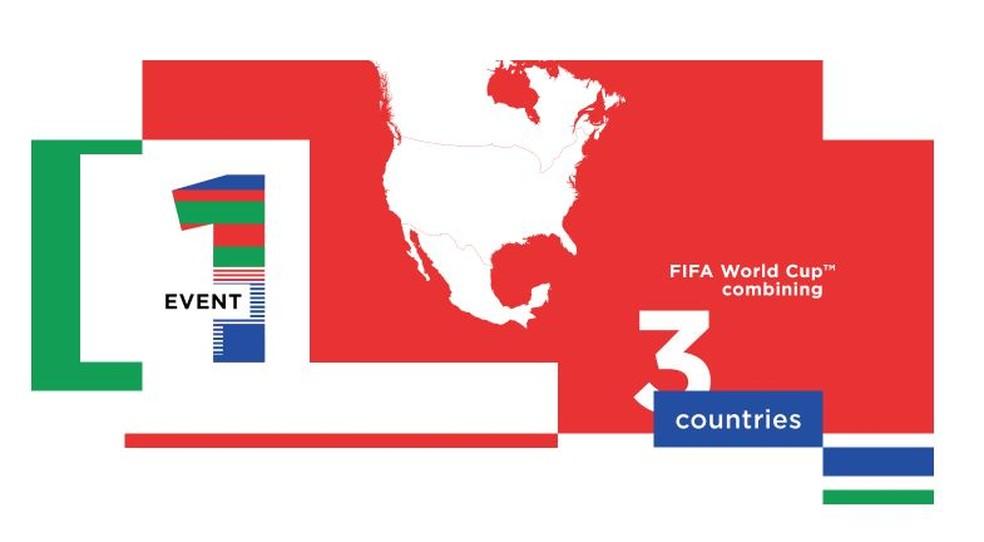 Copa do Mundo será realizada em três países da América do Norte (Foto: Divulgação)