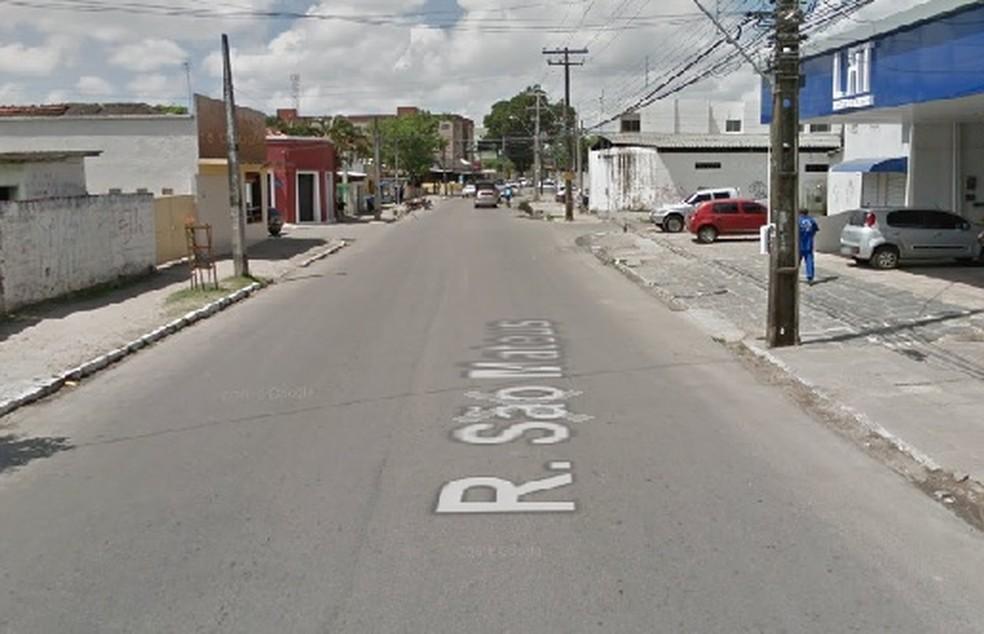 Rua São Mateus fica na Iputinga, no Recife (Foto: Google Maps)