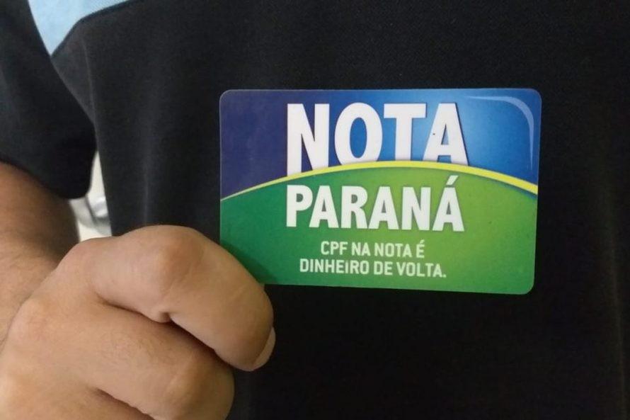 'Nota Paraná' libera R$ 8 milhões em créditos e volta a fazer sorteios
