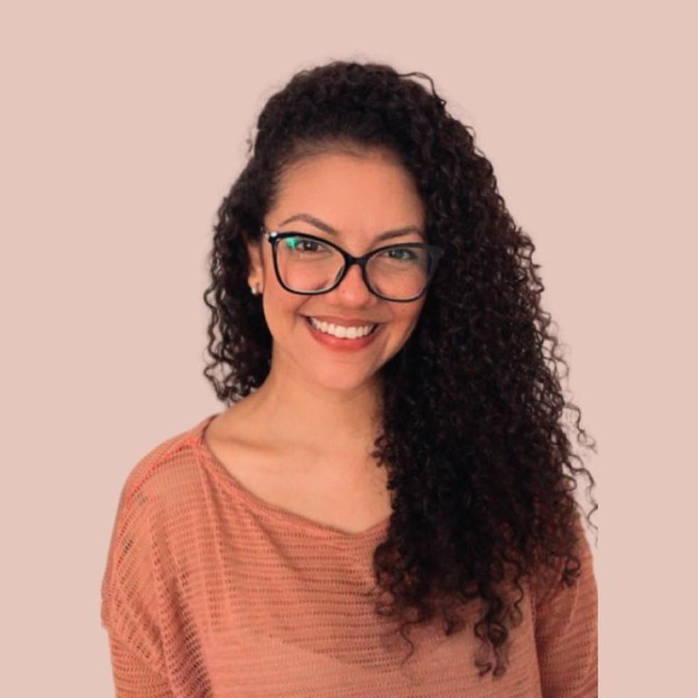 Rayanne Nunes, egressa do curso de Psicologia da Unifor  — Foto: arquivo pessoal