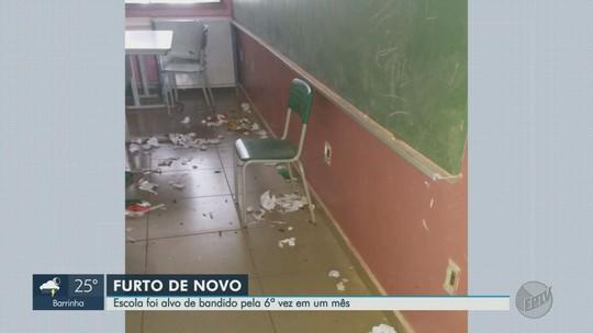 Escola estadual na Zona Oeste de Ribeirão Preto é furtada pela 6ª vez em 1 mês