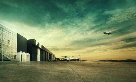 Aeroporto Executivo Catarina, localizado em São Roque