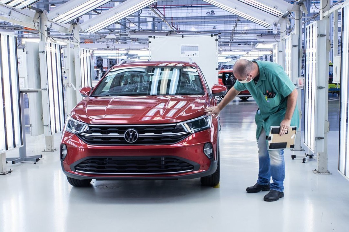 G1 accompanies production of the new Volkswagen Nivus, in the same factory that was ...