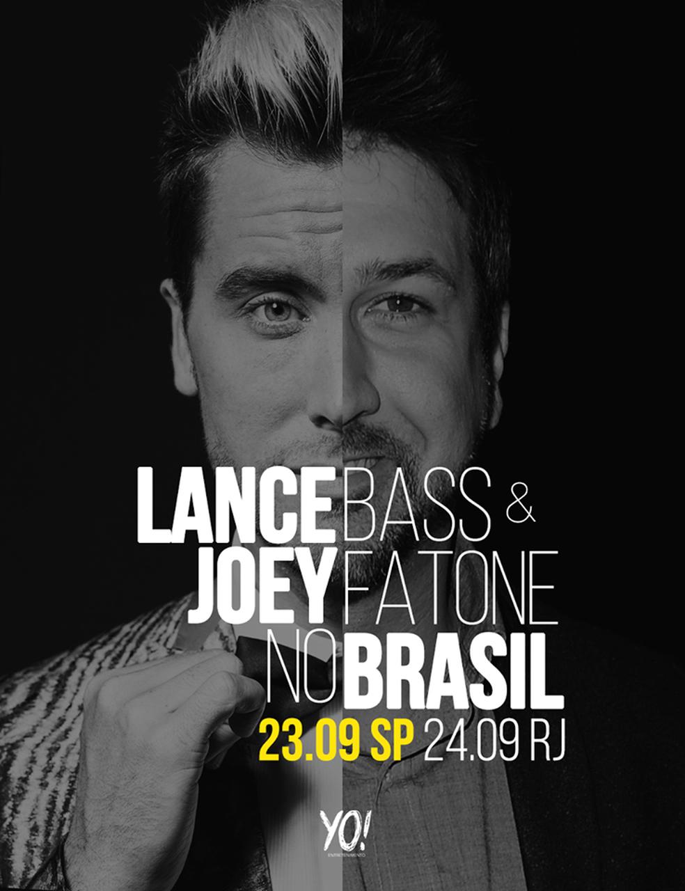 Lance Bass e Joey Fatone, do N'Sync, virão ao Brasil em setembro para evento com fãs (Foto: Divulgação)