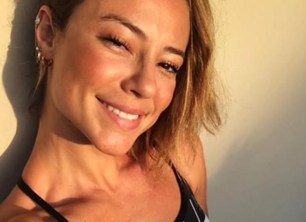 """Paolla Oliveira sobre beijar atores com bafo: """"Finge que não é com ..."""