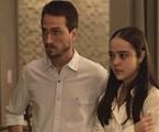 'O outro lado do paraíso': Laura (Bella Piero) e Rafael (Igor Angelkorte) | TV Globo