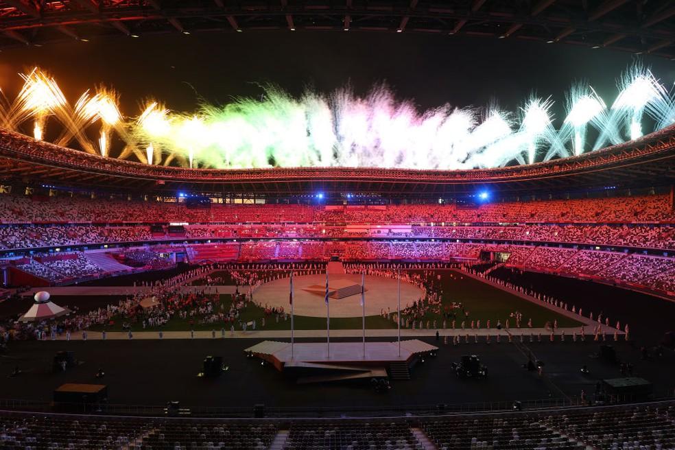 Cerimônia de Encerramento das Olimpíadas — Foto: Alexander Hassenstein/Getty Images