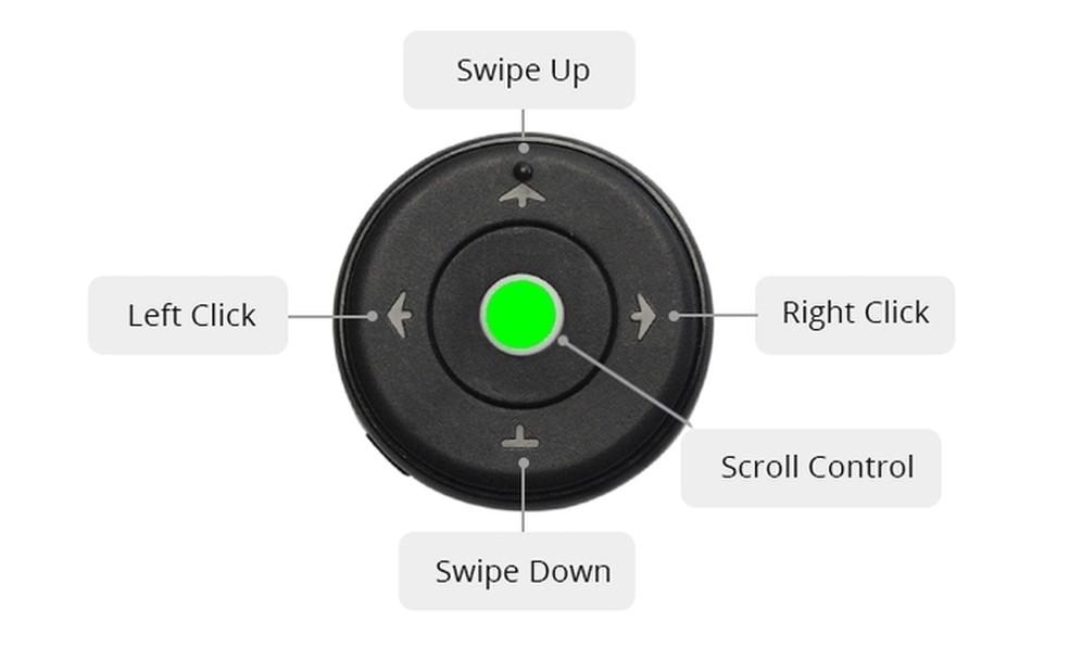 ProLab Mouse com o modo air mouse ativado  — Foto: Divulgação/ProLab