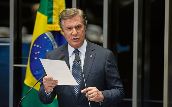 Fernando Collor senador (Foto:  DIDA SAMPAIO/ESTADÃO CONTEÚDO)