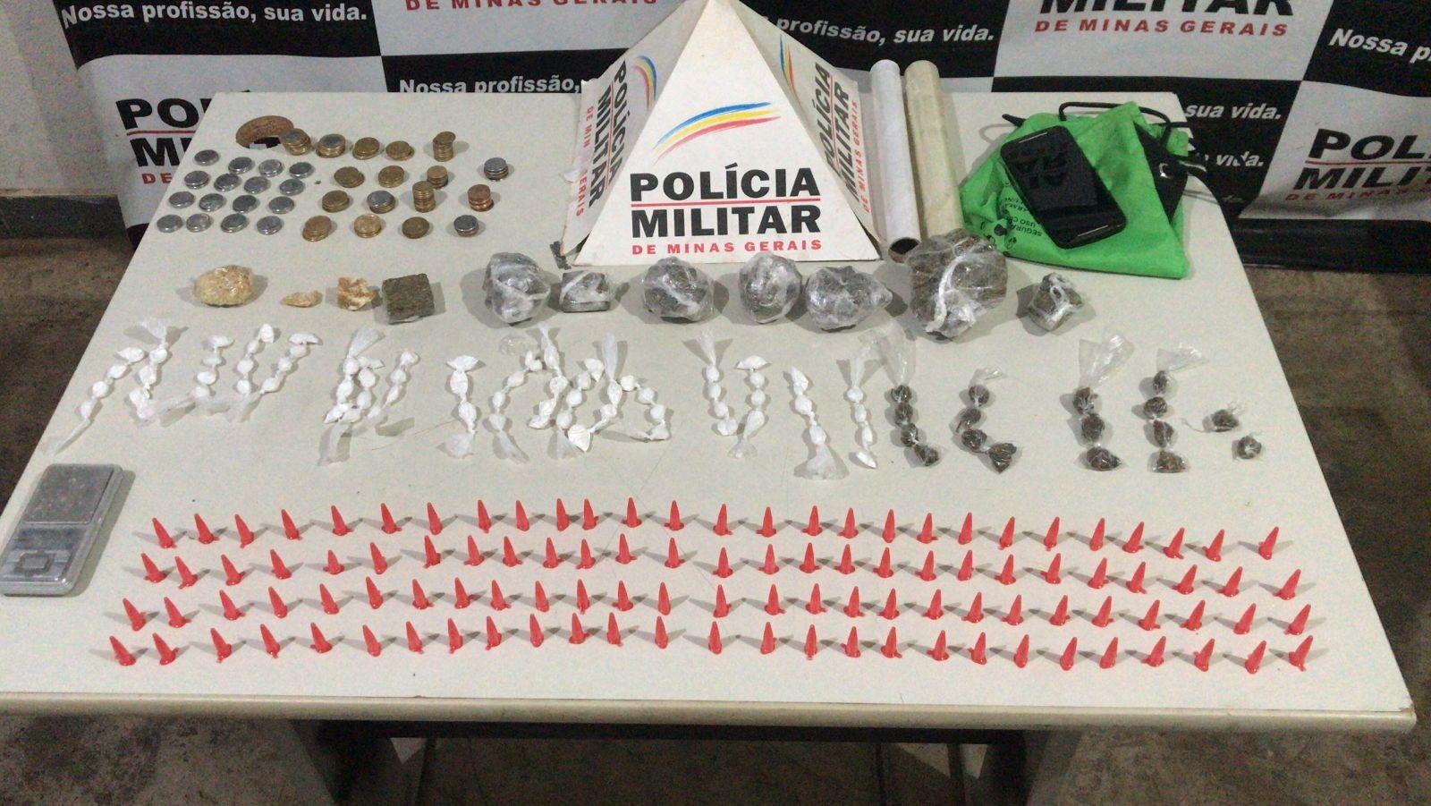 Grupo é detido por tráfico de drogas em Uberaba
