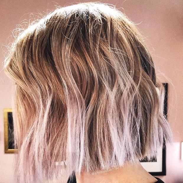 Cor lilás baunilha é o novo hit (Foto: Reprodução/Instagram)
