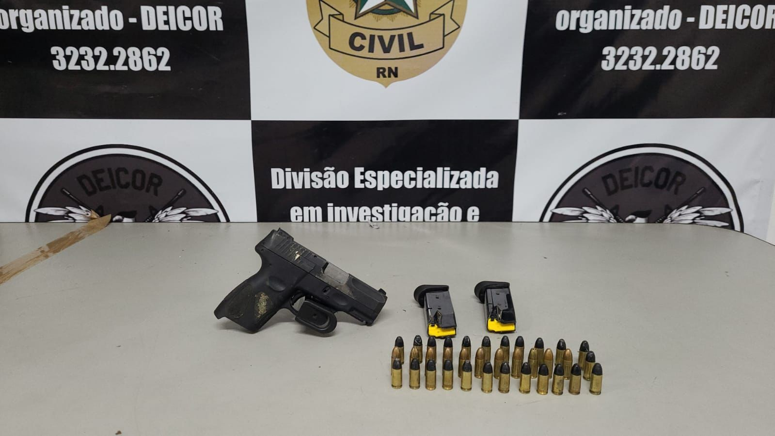 Operação 'Poder Paralelo' prende dois homens suspeitos de integrar grupo de extermínio no RN