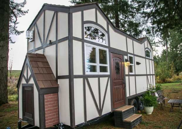 Tiny House de 20m² no estado de Oregon, nos EUA (Foto: Divulgação / Tiny Heirloom)