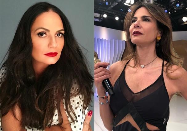 Luiza Brunet critica Luciana Gimenez (Foto: Reprodução)