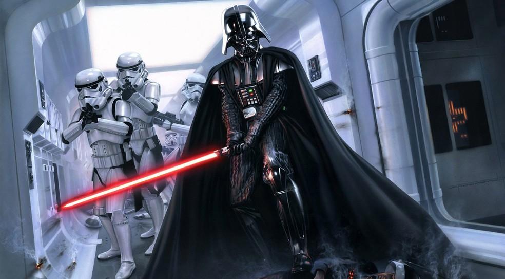 Darth Vader, personagem de 'Star Wars' — Foto: Divulgação