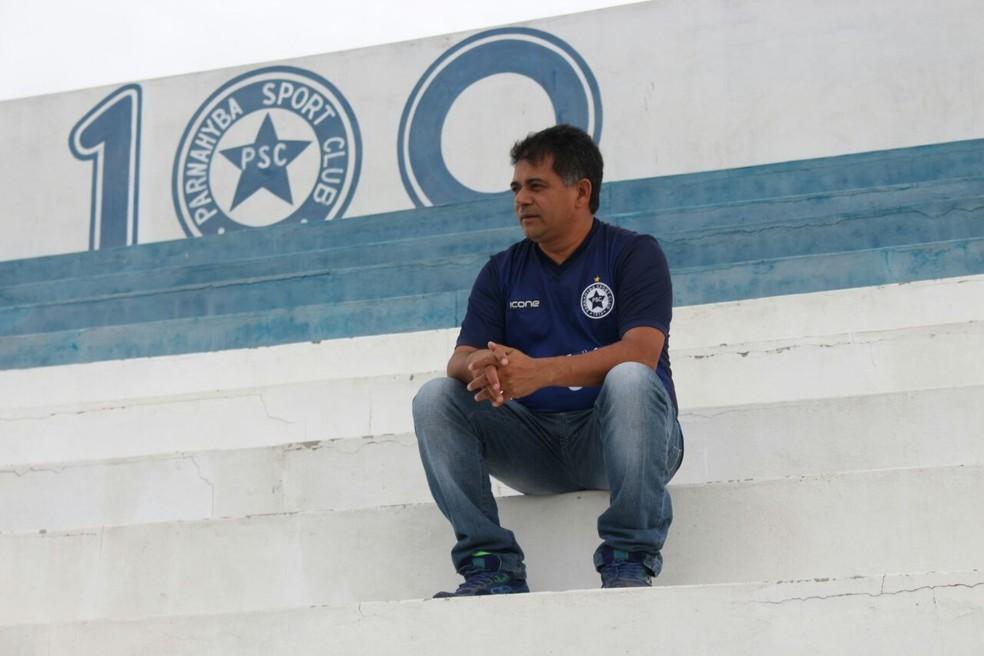 Batista Filho busca reeleição no Parnahyba (Foto: Wenner Tito )