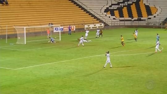 Tupi sai na frente, Novorizontino busca empate no fim e mantém liderança na Série D