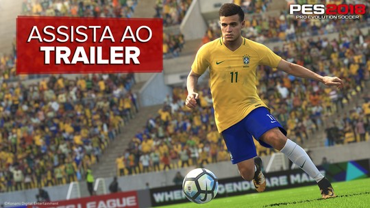 'PES 2018' terá Philippe Coutinho na capa brasileira