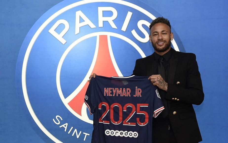 Oficial: Neymar renova contrato com o PSG até 2025 e diz: