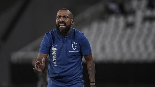 Dyego Coelho na partida contra o Botafogo