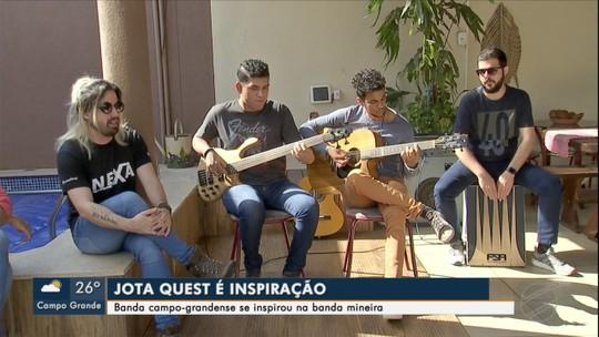 Conheça banda de Campo Grande que se inspira no Jota Quest