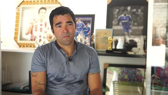 Agora agente, Deco cita empresário de Cristiano Ronaldo como inspiração