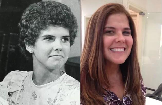 Narizinho da versão original do 'Sítio do picapau amarelo', Rosana Garcia hoje trabalha como preparadora de elenco na Globo. O seu trabalho mais recente foi em 'Segundo Sol' (Foto: TV Globo- Arquivo pessoal)
