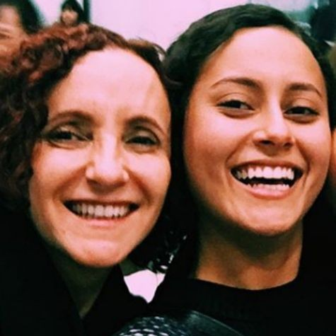 Gorete com a filha, Alice Milagres (Foto: Reprodução)
