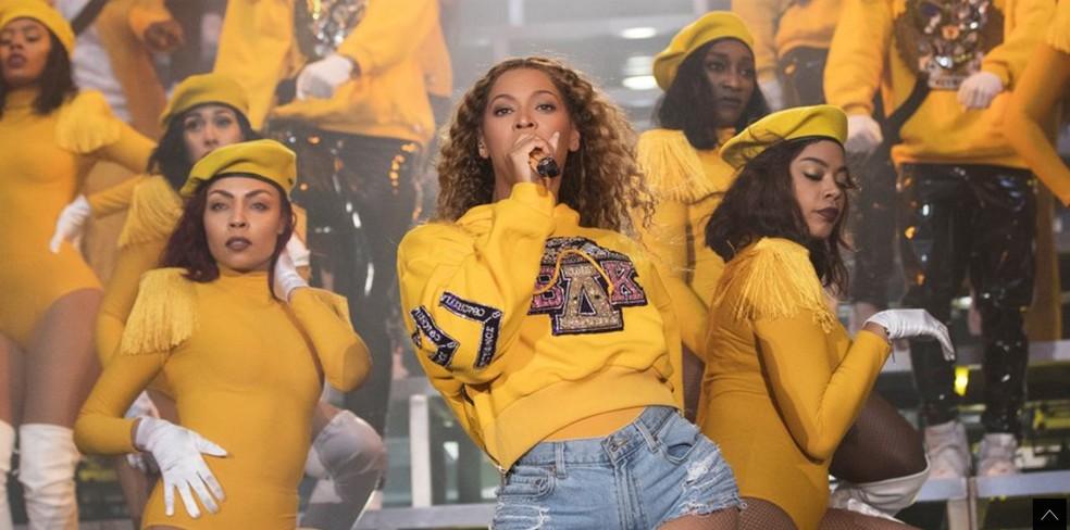 -  Beyoncé no Coachella  Foto: Divulgação / Site oficial da cantora