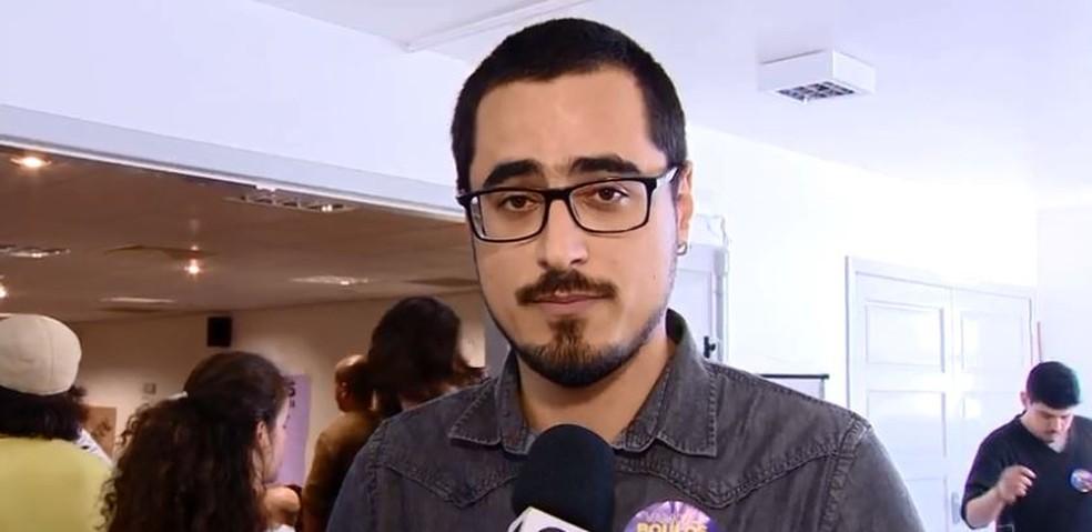 PSOL confirma candidatura de Leonel Camasão ao governo de SC  (Foto: Reprodução/NSC TV)