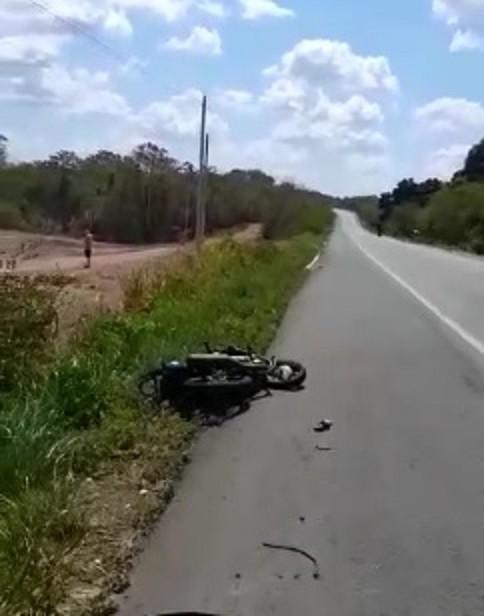 Homem morre e tem a perna decepada em acidente na BR 343 no Piauí