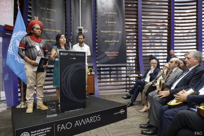 premio-fao-origens-brasil-indígenas (Foto: Divulgação/ FAO)