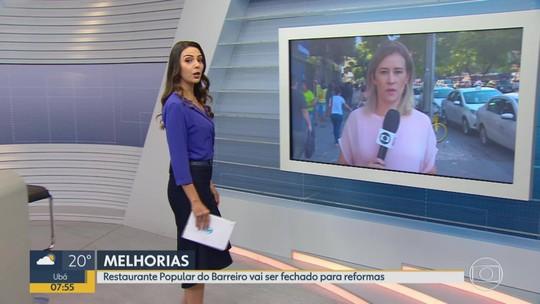 Restaurante popular do Barreiro, em BH, é fechado para reforma