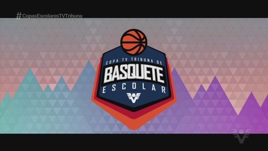 Definidos os semifinalistas da 5ª edição da Copa TV Tribuna de Basquete Escolar