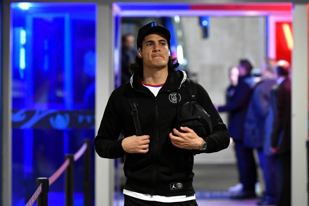 Cavani está sem clube desde que deixou o PSG — Foto: Getty Images