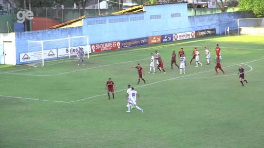 Cássio faz gol salvador no fim, Vitória-ES vence a Desportiva e entra no G-2