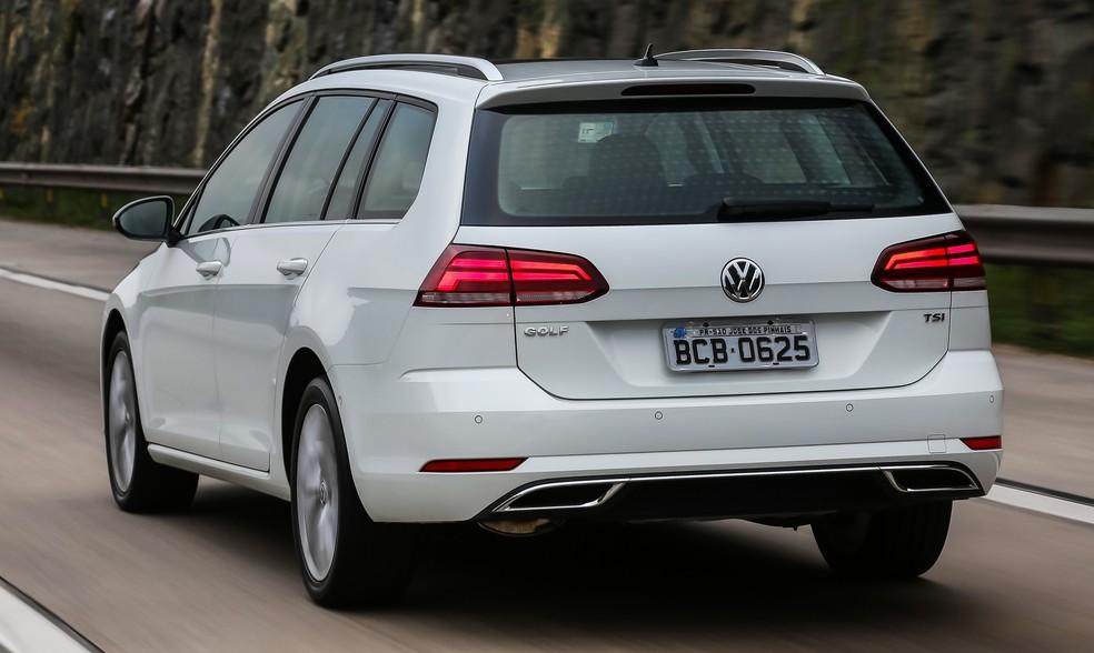 Volkswagen Golf Variant 2018 — Foto: Divulgação