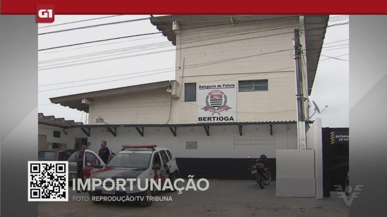 G1 em 1 Minuto - Santos: Jovem denuncia importunação sexual durante voo de asa delta