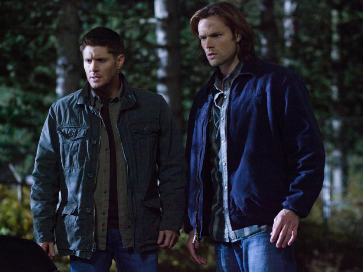 Jared Padalecki e Jensen Ackles em cena de Supernatural (Foto: Divulgação)