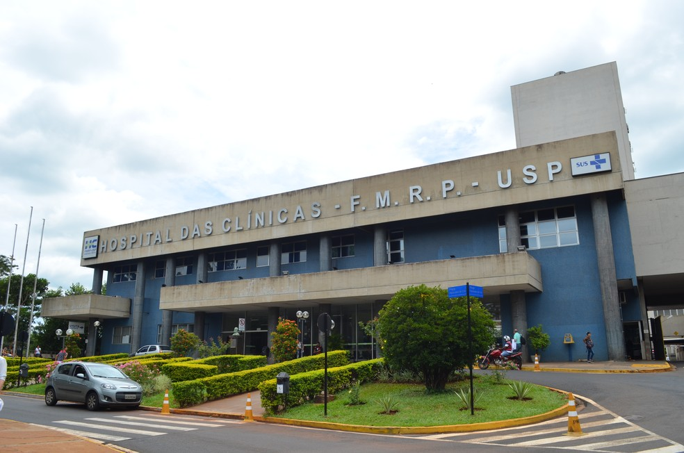 Hospital das Clínicas de Ribeirão Preto (SP) (Foto: Rodolfo Tiengo/G1)
