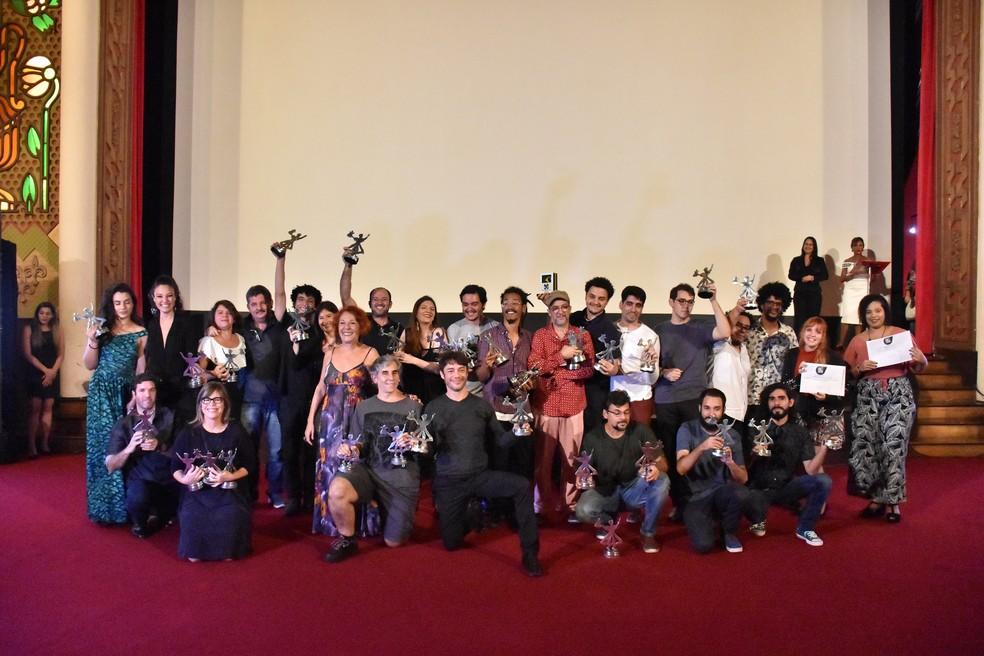 Vencedores da 22ª edição do Cine PE foram anunciados nesta terça (5) no Cinema São Luiz (Foto: Felipe Souto Maior/Divulgação)