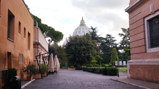 Jardins do Vaticano (Foto: Divulgação)