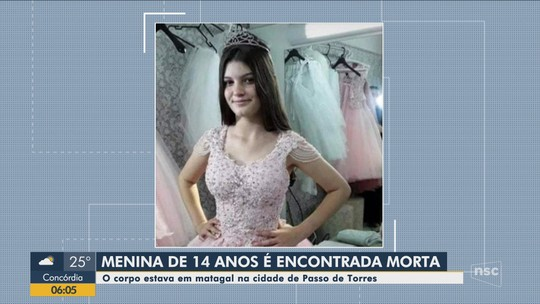 Menina de 14 anos é achada morta com marcas de facadas em plantação de eucaliptos em SC