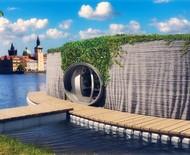 A 1ª casa impressa em 3D na República Tcheca pode flutuar na água