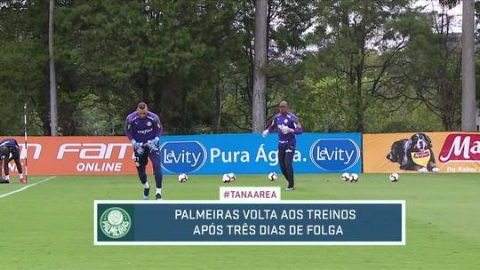Palmeiras volta aos treinos após três dias de folga