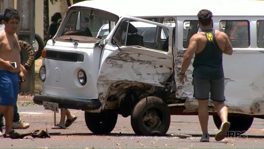 Idoso morre em acidente que envolveu veículo da Polícia Militar em Londrina