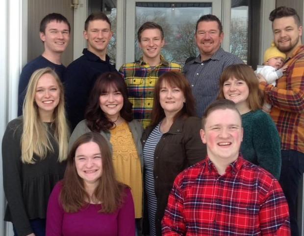 Família McCaughey (Foto: Reprodução Facebook)